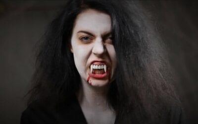 Grunden till en halloween-frisyr